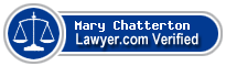 Mary M. Chatterton  Lawyer Badge