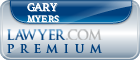 Gary R. Myers  Lawyer Badge