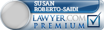 Susan Evelyn Roberto-Saidi  Lawyer Badge