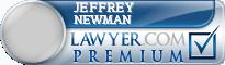 Jeffrey S. Newman  Lawyer Badge