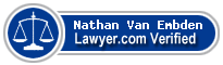 Nathan Van Embden  Lawyer Badge