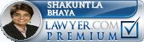 Shakuntla Lal Bhaya  Lawyer Badge