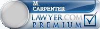 M. Michael Carpenter  Lawyer Badge