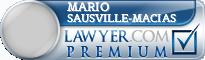Mario Sausville-Macias  Lawyer Badge