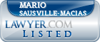 Mario Sausville-Macias Lawyer Badge