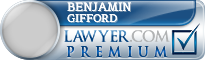 Benjamin Stevens Gifford  Lawyer Badge