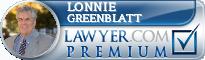Lonnie Mark Greenblatt  Lawyer Badge
