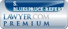 S. C. Bluespruce-Refert  Lawyer Badge