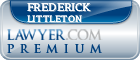 Frederick C. Littleton  Lawyer Badge