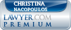 Christina S. Nacopoulos  Lawyer Badge