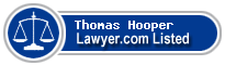 Thomas Hooper Lawyer Badge