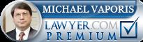 Michael Nomikos Vaporis  Lawyer Badge