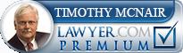 Timothy Dean McNair  Lawyer Badge