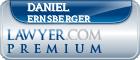 Daniel William Ernsberger  Lawyer Badge