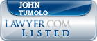 John Tumolo Lawyer Badge