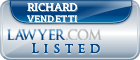 Richard Vendetti Lawyer Badge