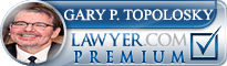 Gary Paul Topolosky  Lawyer Badge