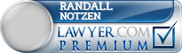 Randall A. Notzen  Lawyer Badge