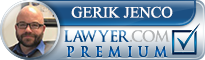 Gerik Jenco  Lawyer Badge