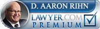 D. Aaron Rihn  Lawyer Badge