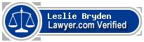 Leslie Weiss Bryden  Lawyer Badge