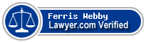 Ferris Peter Webby  Lawyer Badge