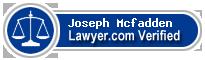 Joseph R. Mcfadden  Lawyer Badge