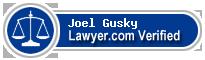 Joel Daniel Gusky  Lawyer Badge