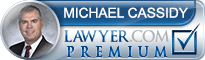 Michael W. Cassidy  Lawyer Badge