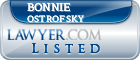 Bonnie Ostrofsky Lawyer Badge