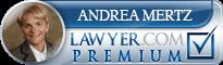 Andrea E. Mertz  Lawyer Badge