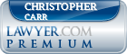 Christopher C. Carr  Lawyer Badge