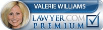 Valerie Kay Williams  Lawyer Badge