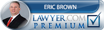 Eric M Brown  Lawyer Badge