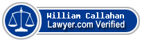 William B. Callahan  Lawyer Badge