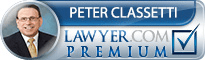 Peter John Classetti  Lawyer Badge