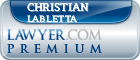 Christian P. Labletta  Lawyer Badge
