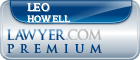 Leo K Howell  Lawyer Badge