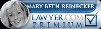 Mary Beth Reinecker  Lawyer Badge