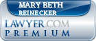 Mary Beth Reinecker  Lawyer Badge