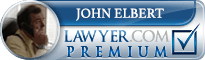 John B. Elbert  Lawyer Badge