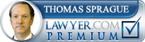 Thomas A. Sprague  Lawyer Badge