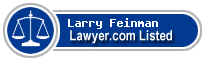 Larry Feinman Lawyer Badge