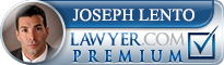 Joseph D. Lento  Lawyer Badge