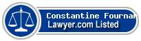 Constantine Fournaris Lawyer Badge