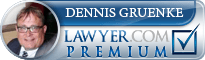 Dennis J. Gruenke  Lawyer Badge