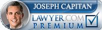 Joseph David Capitan  Lawyer Badge