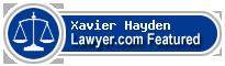 Xavier P. Hayden  Lawyer Badge