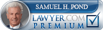 Samuel H. Pond  Lawyer Badge