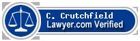 C. Cohron Crutchfield  Lawyer Badge